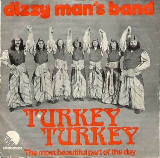 Coverafbeelding Dizzy Man's Band - Turkey Turkey