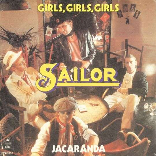 Coverafbeelding Girls, Girls, Girls - Sailor