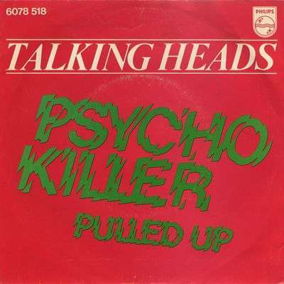Coverafbeelding Talking Heads - Psycho Killer