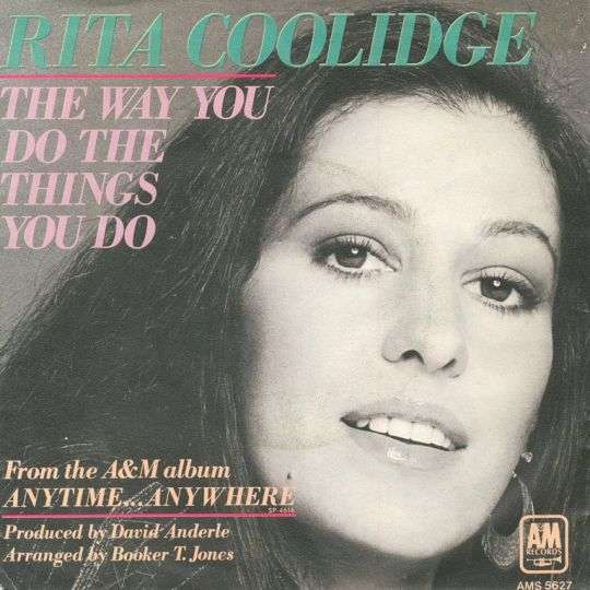 Coverafbeelding Rita Coolidge - The Way You Do The Things You Do