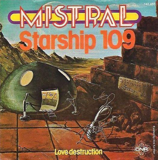 Coverafbeelding Starship 109 - Mistral