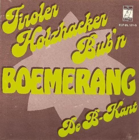 Coverafbeelding Boemerang - Tiroler Holzhacker Bub'n