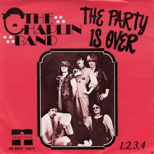 Coverafbeelding The Chaplin Band - The Party Is Over