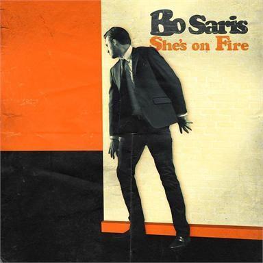 Coverafbeelding She's On Fire - Bo Saris