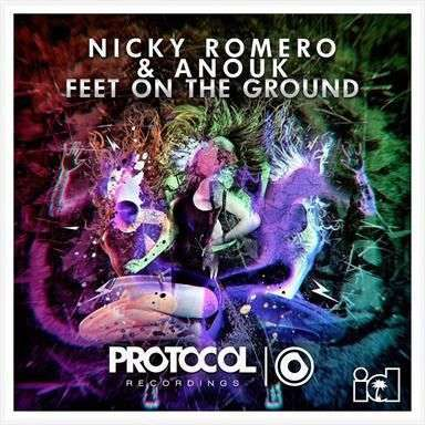Coverafbeelding Feet On The Ground - Nicky Romero & Anouk