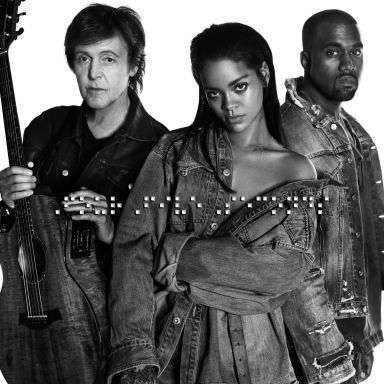 Coverafbeelding Fourfiveseconds - Rihanna And Kanye West And Paul Mccartney