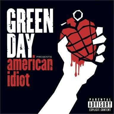 Coverafbeelding American Idiot - Green Day