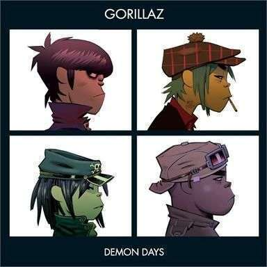 Coverafbeelding Dirty Harry - Gorillaz