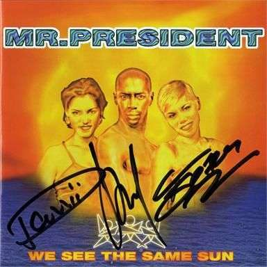 Coverafbeelding I Give You My Heart - Mr. President