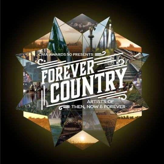 Coverafbeelding Artists Of Then, Now & Forever - Forever country