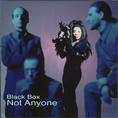 Coverafbeelding Not Anyone - Black Box