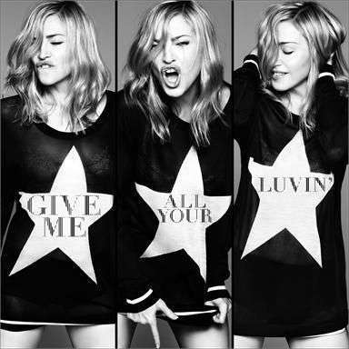 Coverafbeelding Madonna feat. Nicki Minaj and M.I.A. - Give me all your luvin'