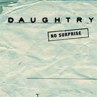 Coverafbeelding No Surprise - Daughtry