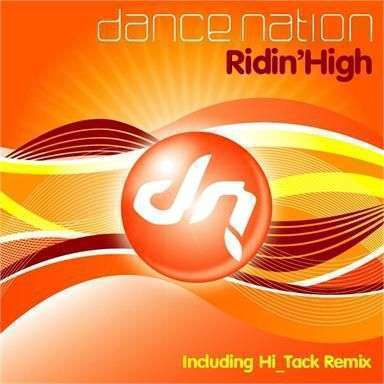 Coverafbeelding Ridin'high - Dance Nation
