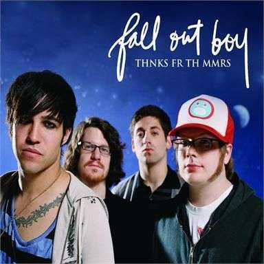 Coverafbeelding Thnks Fr Th Mmrs - Fall Out Boy