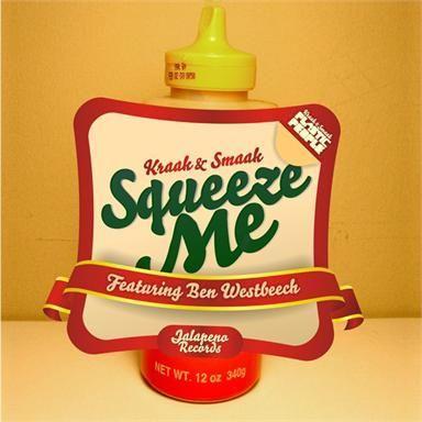 Coverafbeelding Kraak & Smaak featuring Ben Westbeech - Squeeze me