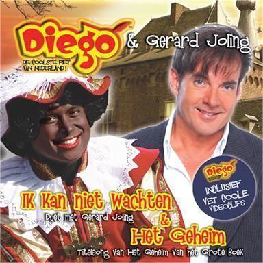 Coverafbeelding Ik Kan Niet Wachten/ Het Geheim - Titelsong Van Het Geheim Van Het Grote Boek - Diego - Duet Met Gerard Joling/ Diego