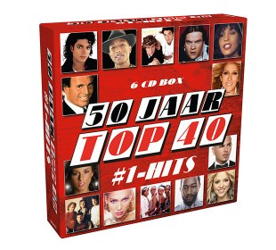 50 jaar Top 40 6 cd-box