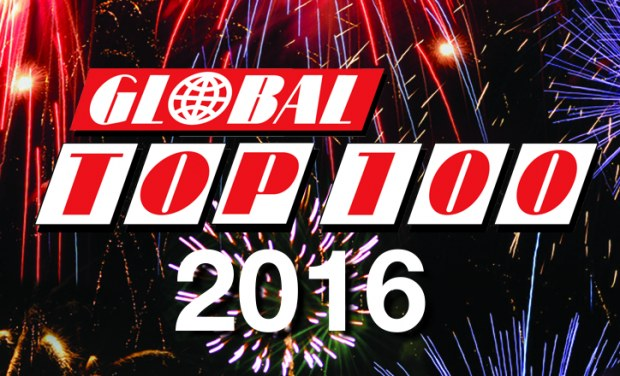Global Top 100 over 2016