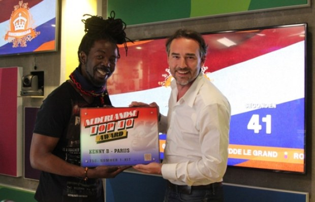 Top 40 Award voor Kenny B
