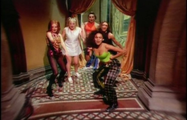 Spice Girls verrassen David