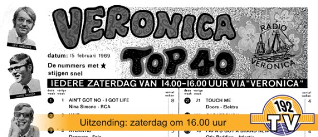 192TV: De Top 40 van 15 februari 1969