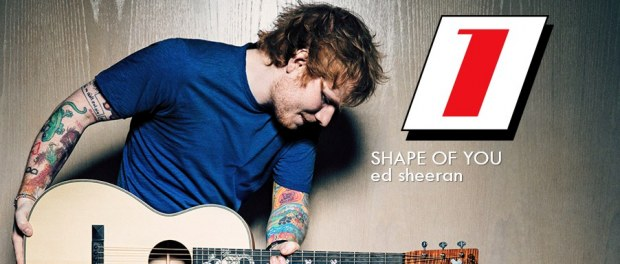 Ed Sheeran razendsnel op 1 in de Top 40