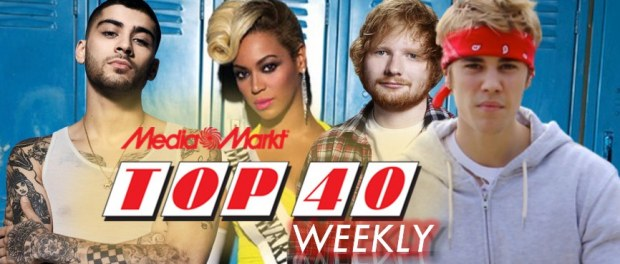 Top 40 Weekly: Ed Sheeran ontroerde, The Biebs zat in de knel