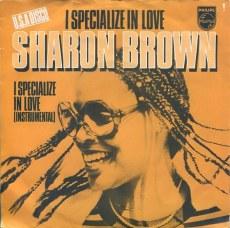 Resultado de imagen de Sharon Brown - I Specialize in Love